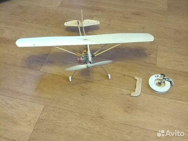 Кордовая модель самолета як-12 89063901161 купить 1