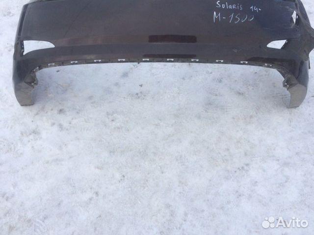 Бампер задний Hyundai Solaris 1 1.6 2013 купить 2