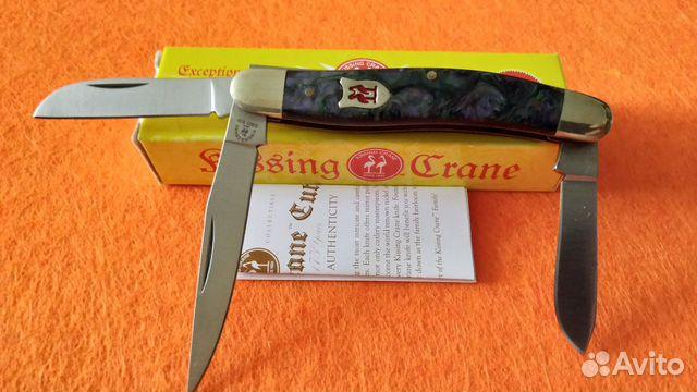 Нож Kissing Crane Trapper Since 1834  купить 2