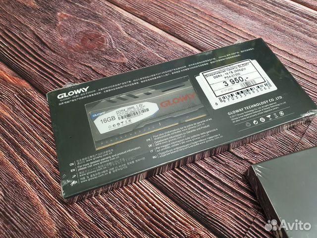 Новая Оперативная память glowy DDR4 16 GB 2666 GHZ купить 4