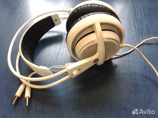 Наушники SteelSeries Siberia 200 (White)  89158139596 купить 1