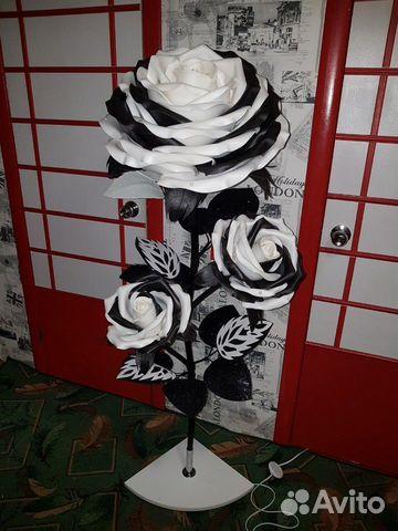 Торшер Ростовые цветы Роза  89009049190 купить 2