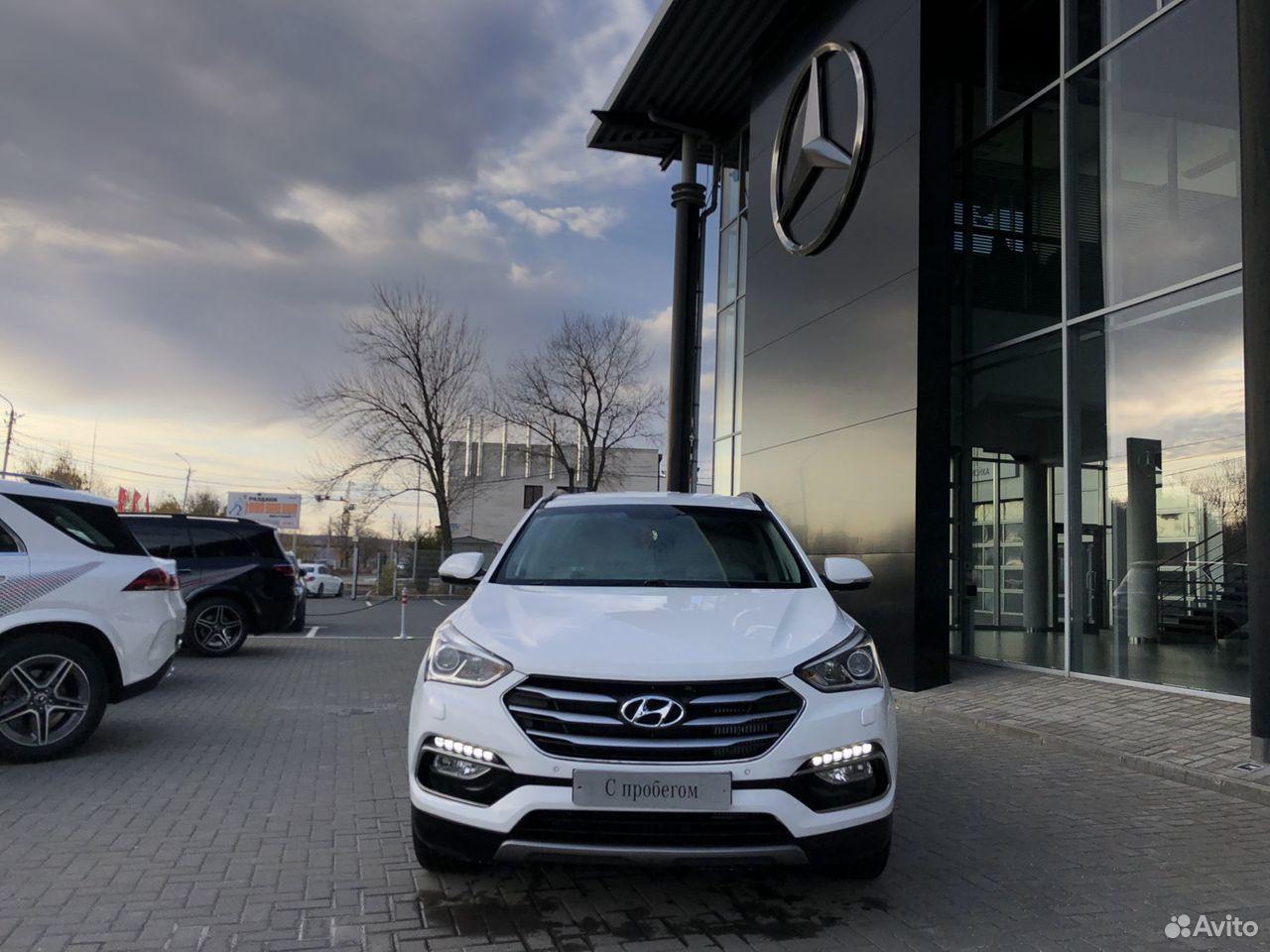 Hyundai Santa Fe, 2016  88452987968 купить 5