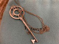 Подвеска ключик с цепочкой Tiffany Atlas, б/у, ори