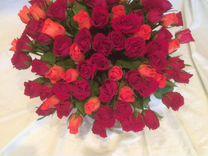Розы Букеты Коробки Круглосуточно