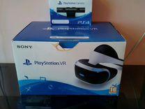 Набор VR PS4 (Шлем и камера)