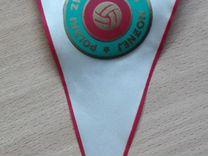 Вымпел из СССР Польский Футбольный Союз P.Z.P.N — Коллекционирование в Челябинске