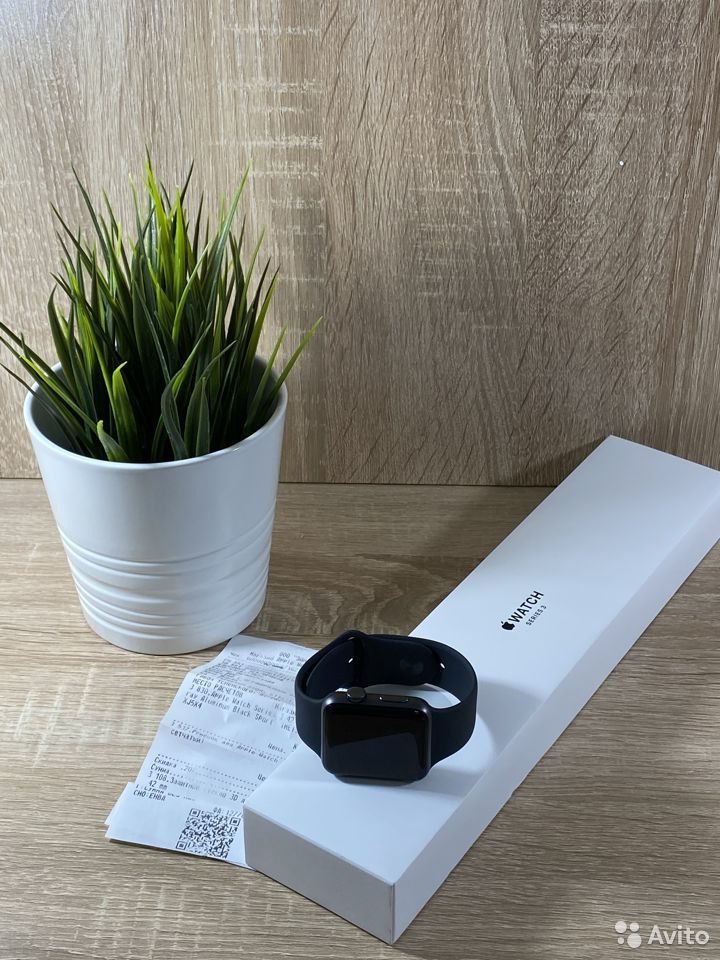 Apple Watch s3 42mm Space Grey  83422250090 купить 1