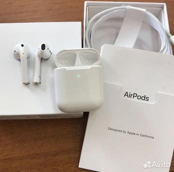 Наушники Apple AirPods  89616514788 купить 2