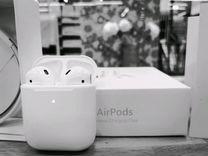 Беспроводные наушники Airpods 2