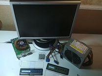 Бп, Моник, видеокарта, проц, оперативка — Товары для компьютера в Москве