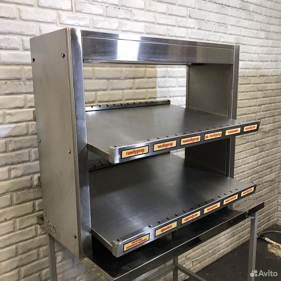 Витрина Тепловая TTM (раздача для бургеров)  89169974116 купить 7