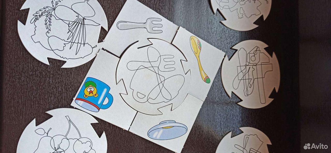 Настольные игры для малышей. Пазлы для начинающих  89023334915 купить 9