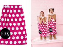 Плюшевое полотенце - платье Victoria's Secret pink
