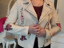 Кожаная куртка — Одежда, обувь, аксессуары в Санкт-Петербурге