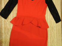 Платье красное Bestia