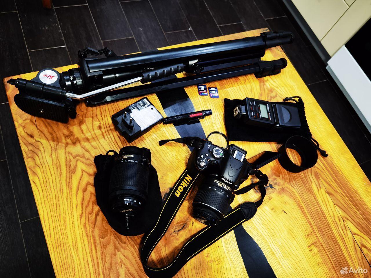 Зеркальный фотоаппарат Nikon D5100 Dauble VR Обмен  89185656006 купить 1