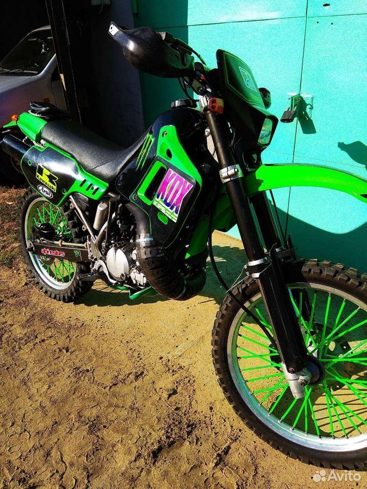 Kawasaki KDX 200 SR  89148303508 купить 4