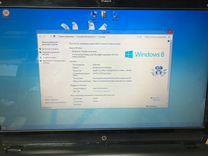 Hр Envy dv7.Экран 17.3. Игровой ноутбук. Красная ц