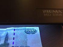 Детектор банкнот sigma MD-2036