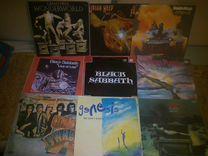 Пластинки Uriah Heep Black Sabbath и др