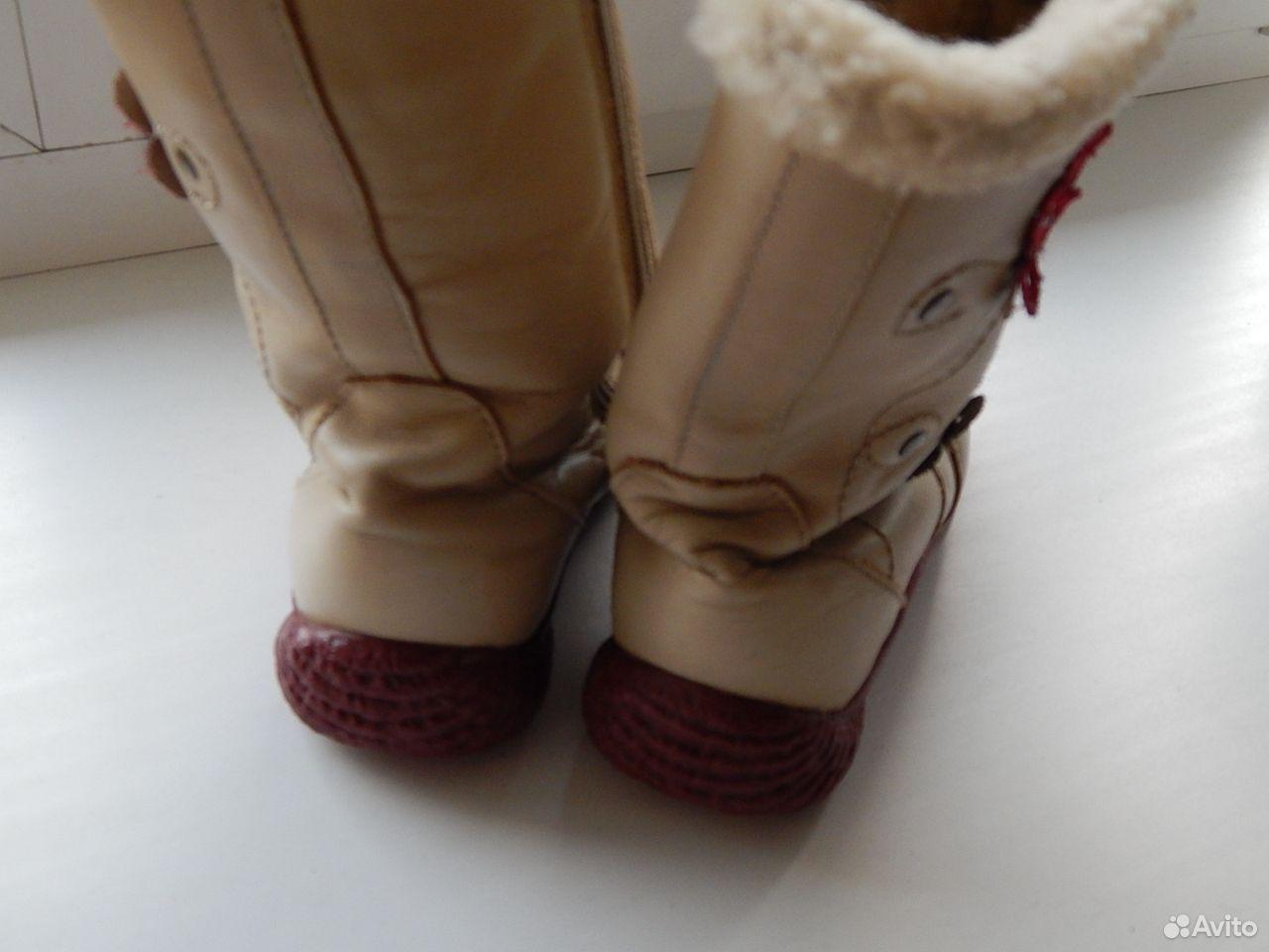 Сапоги кожаные, теплые  89614983783 купить 4