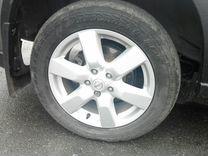 Диски r17 с резиной на Nissan X-trail