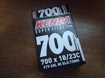 Камера Kenda 700 Super Lite 0.73 18-23 FV-60L