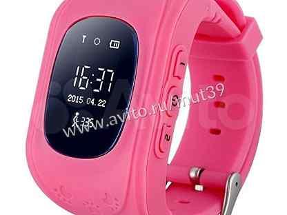 Смарт часы Smart baby watch Q50, розовые