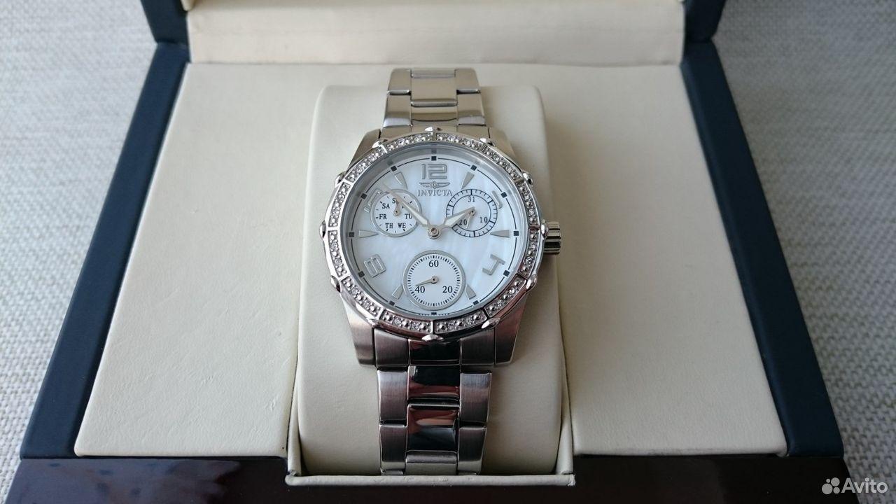 89525003388  Женские наручные часы датограф Invicta Angel Lady
