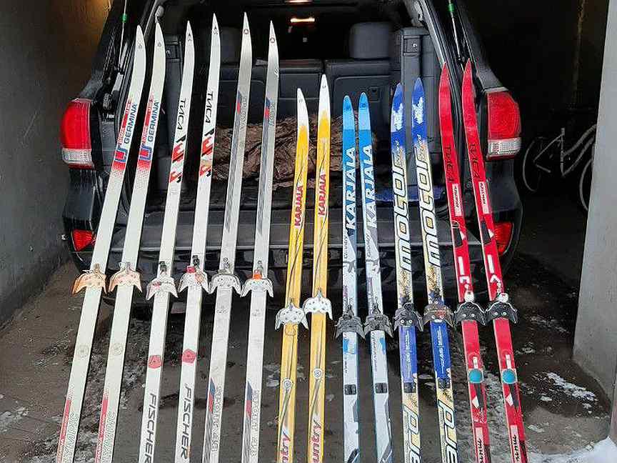 Лыжи пластиковые объявление фото