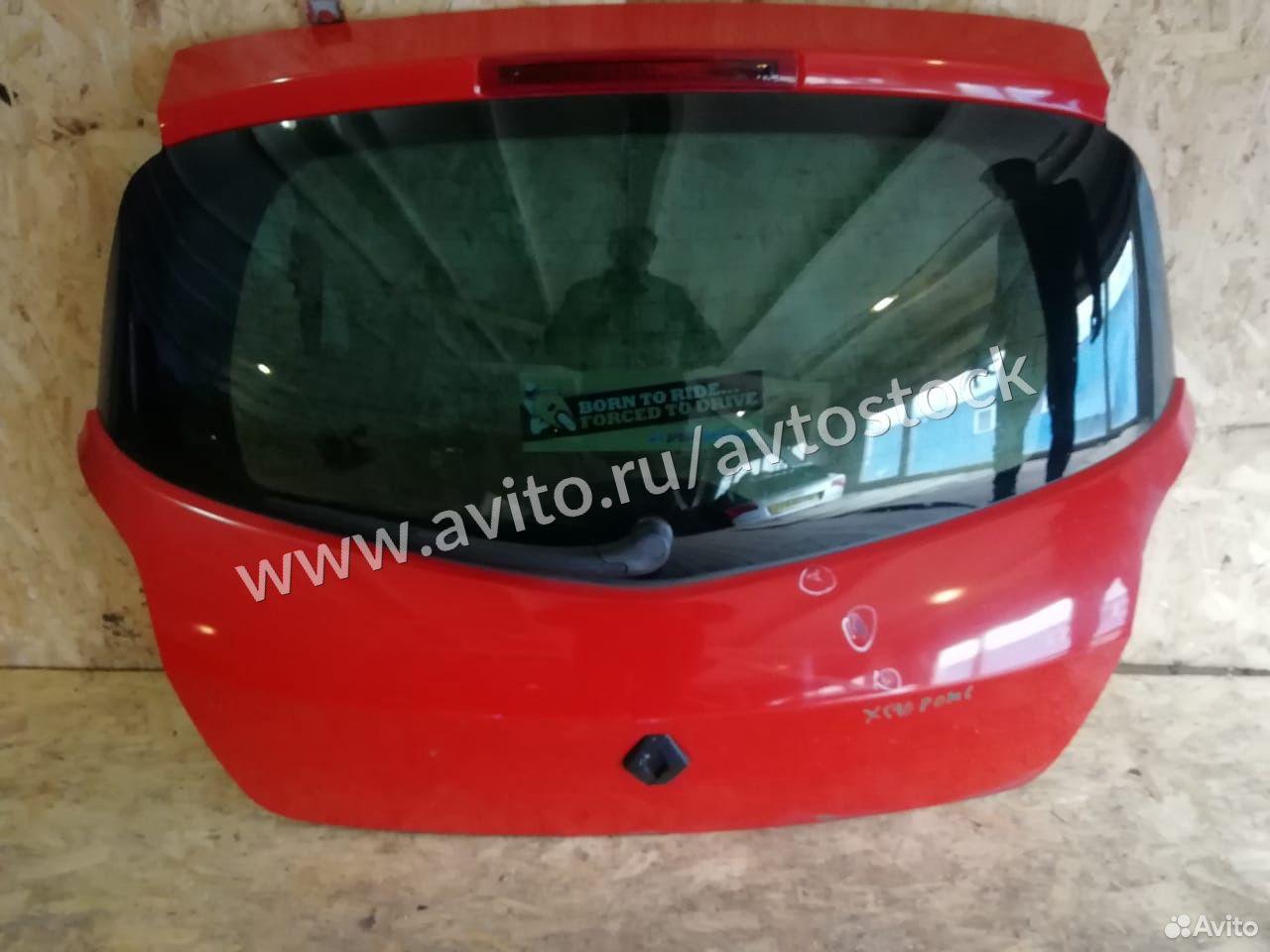 Крышка багажника Renault Clio (Автосток)  89870941959 купить 1