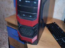 Комплектующие для компьютера, геймпад, корпус