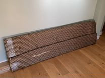 Стекло для душевой кабины 38*200 см