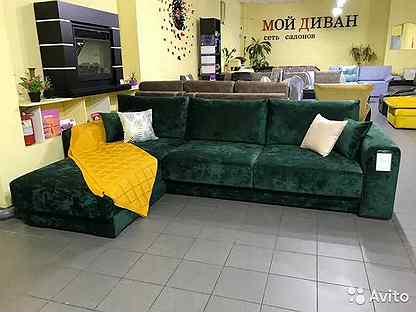 Максимус 10, большой, модульный, угловой диван